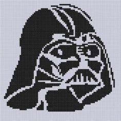 Darth Vader Stitch Pattern  | Craftsy