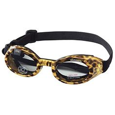 Leopard Print Frame Smoke Lens ILS Sunglasses for Dogs Large >>> Read more  at the image link.