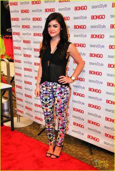 Lucy Hale: Bongo Ice Pop Bar at Sears! | lucy hale bongo macys 01 - Photo