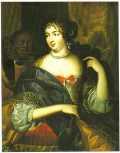 Presumed to be Madame de Montespan, 1670's-80's, French school