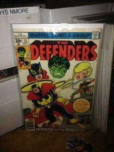 THE DEFENDERS #51 HULK, MOON KNIGHT MARVEL COMICS