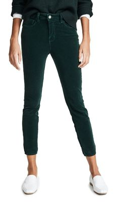 68b6bb0d646 L'Agence Margot High Rise Corduroy Skinny Jeans Winter Gear, City Style, Who