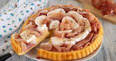 Buongiorno carissimi amici! Oggi vi propongo una ricetta che io adoro in particolar modo, laCrostata morbida con prosciutto e mozzarella. Ingredienti per u