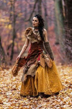 The color scheme (not so with fur .)-Das Farbschema (nicht so mit Pelz…) The color scheme (not so with fur …) - Estilo Tribal, Character Inspiration, Style Inspiration, Renaissance Costume, Celtic Costume, Viking Costume, Fantasy Dress, Corsets, Costume Design