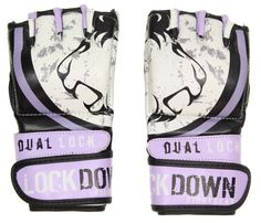 Lilac Ladies MMA gloves these are sweet!
