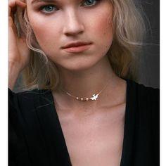 Cute Bird Necklace http://pupskii.com/products/cute-bird-necklace