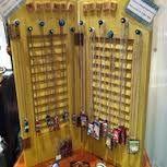 jewelry display ideas - shutters