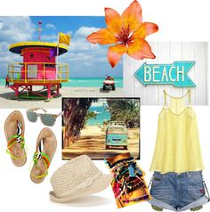 """Summer's days by zoe"" by zoiree on Polyvore"