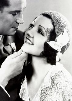 Claudette Colbert and Maurice Chevalier , The Smiling Lieutenant (1931)