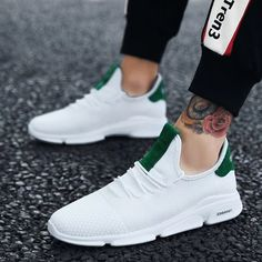 Buy Men Breathable Fashion Sportswear Student Running Shoes, sale ends soon. Be inspired: enjoy affordable quality shopping at Gearbest! Sneakers Fashion, Fashion Shoes, Sneakers Nike, Streetwear, Casual Shoes, Men Casual, Suits Tv Shows, Fashion Over, Street Style Women