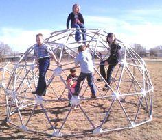 8'x15' PVC Dome Climber Jungle Gym Monkey Bars -- may be too big