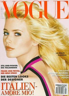 Vogue Germany September 1994 - Claudia Schiffer