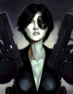 Neena Thurman, a. Marvel Comics, Domino Marvel, Domino Art, Dc Comics Art, Marvel Heroes, Marvel Women, Marvel Girls, Comics Girls, Comic Book Girl