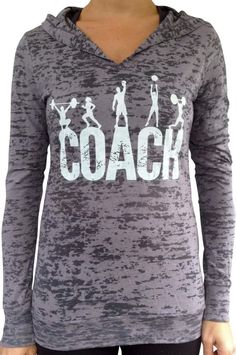 This is one of my favorites on SoRock Shop: Coach Grey Burnout Hoody