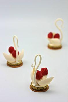 White Chocolate Swans.