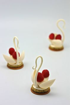 White Chocolate Swans.