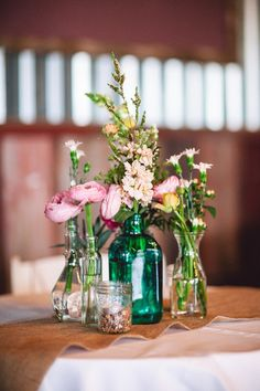 Rustic Wildflower Wedding | Round Top Texas | Jennifer Laura Design | Bertuzzi Photography | Tamara Menges Designs