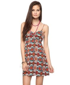 Adorable tribal dress for only $17!! Score:)