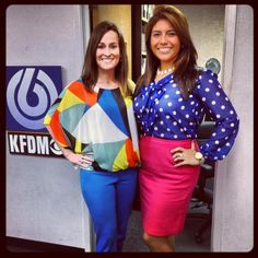 Leslie Rangel and Ashley Gaston pull out their favorite spring trends.