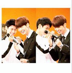 Cuttier than a chibi Pikachu ♥ #kpop #Boyfriend #JoTwins #Kwangmin #Youngmin #Cute