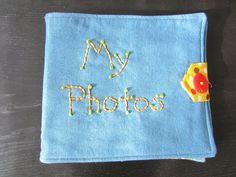 sewBOLD: Baby Photo Album