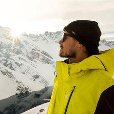 Dla takich widoków warto być aktywnym zimą... Nie warto marznąć w górach, warto zaopatrzyć się w specjalistyczną odzież marki Spyder