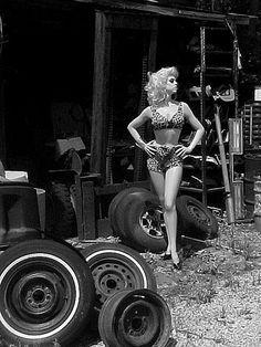 Salvage Yard Rootstein Dianne Brill Mannequin in 1960s Catalina Swimwear
