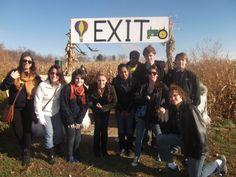 Cider Mill/Corn Maize Trip - October 2012