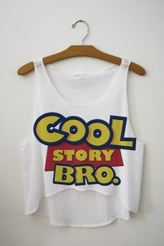 Cool Story Bro Crop Top- http://fresh-tops.com/collections/basic-design-crop-top/products/cool-story-bro-crop-top