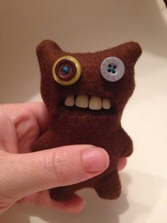 Have you heard about these Fugglers?  Apparently they're good luck charms; scare away the night monsters.  #EID_AK, #dental #smile www.anchoragesmiles.com
