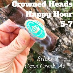Join me for Happy Hour at Sticks in Cave Creek Az for awesome deals on Crowned Heads from 5-7pm! See you then! @thecrownedheads #CYOP #crownedheads #cigars #BOTL #stogies #botlazchapter #cigarlovers #cigaroftheday #ladiesoftheleaf #girlsandcigars #cavecreekaz #stickscigars #cigaraficionado #cigarporn #cigarsociety #cigarsnob