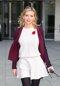 RACHEL RILEY Arrives at BBC Radio Studios in London 01 11 2014