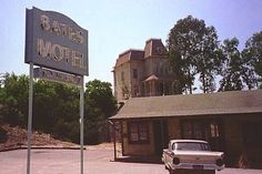 10 Horror Film Houses You Can Actually Visit   Including:    Psycho - Bates Motel   The Shining - Overlook Hotel   The Amityville Horror - Lutz  House  The Others - Stewart House  Poltergeist - Freeling House  The Haunting - Hill House  The Evil Dead - Cabin  the Exorcist McNeil House/Stairs  Hell Night - Garth Manor  Donnie Darko - Cunningham House
