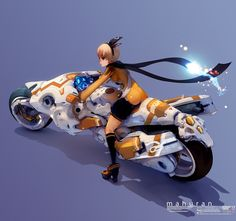 マフランの可変式バイク by hoppang