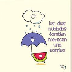 Nublado con sonrisas