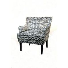 Home Decorators Collection Vincent Driftwood 31.25 in. W Arm Chair-0512600510 at The Home Depot