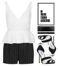 """""""Untitled #510"""" by metalhippieprincess ❤ liked on Polyvore featuring STELLA McCARTNEY, Topshop, Dune and Nine West"""