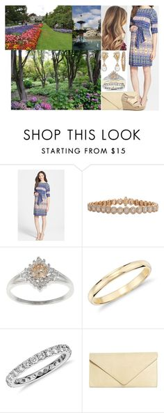 """""""Tour of New Zealand & Australia Day 3 : Visiting the Botanic Garden in Christchurch"""" by charlottedebora ❤ liked on Polyvore featuring Leota, Van Cleef & Arpels, Inbar, Blue Nile and Brooks Brothers"""