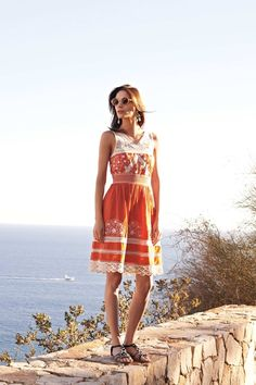 Summer catalogue anthropologie Aniko Lace Dress