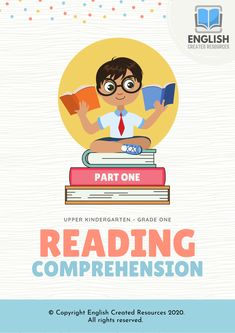 Comprehension goes beyond reading the text on the page – it involves finding meaning in the text and being able to summarize, reiterate, an… Grammar Skills, Writing Skills, Reading Comprehension Grade 1, English Resources, English Language Learners, English Book, Education System, Learning Tools, Teaching Resources