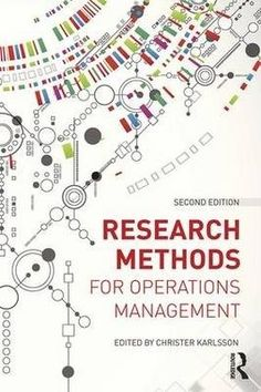 Research methods for operations management / Christer Karlsson.