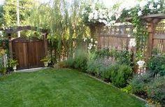 landscaping along fence Landscaping Along Fence, Outdoor Landscaping, Kitchen And Bath, Landscape Design, Sidewalk, Garden, Plants, Photography, Image