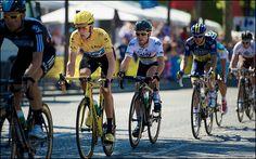 Yellow Cav Train by kristof ramon, via Flickr. Tour de France 2012, stage 20