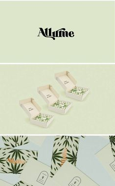 Allume - Sophisticated Cannabis Branding by Corina Nika