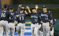 #Mariners offense explodes for 15 hits in 7-4 victory over Tigers. 4/24/12