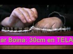 BUFANDA TUBO EN TELAR CIRCULAR