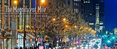 Magnificent Mile...shopping a must