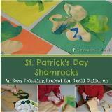 Linked to: www.kenarry.com/st-patricks-day-shamrock-craft/