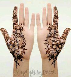 Best Henna Tattoo Designs And Ideas For Women - Henna tattoo - Henna Designs Hand Khafif Mehndi Design, Mehndi Designs For Girls, Stylish Mehndi Designs, Mehndi Designs For Beginners, Mehndi Design Photos, Mehndi Designs For Fingers, Latest Mehndi Designs, Mehandi Designs Modern, Henna Tattoo Designs