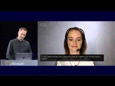 Demonstratie live de vorbire si traducere folosind Skype Translator la WPC 2014. Skype Translator este unul dintre cele mai noi inovații derivate din zeci de ani de cercetare în recunoaștere a vorbirii si a traducerii automate. Acesta este dezvoltat în comun de către Skype, si echipa de Traducatori Microsoft. #tehnologie #skype